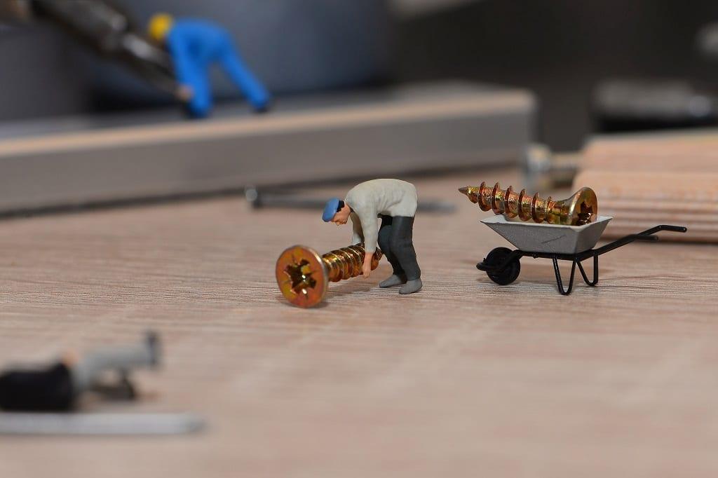 Arbeit-Arbeitssicherheit-Handwerker