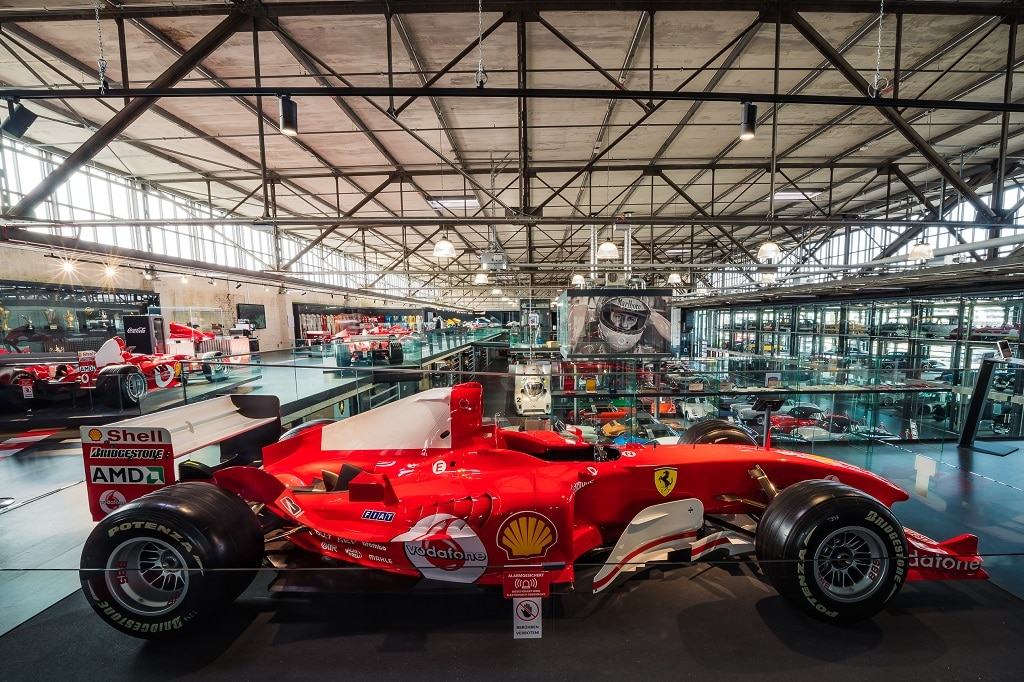 Motorworld Köln Schumacher Ausstellung