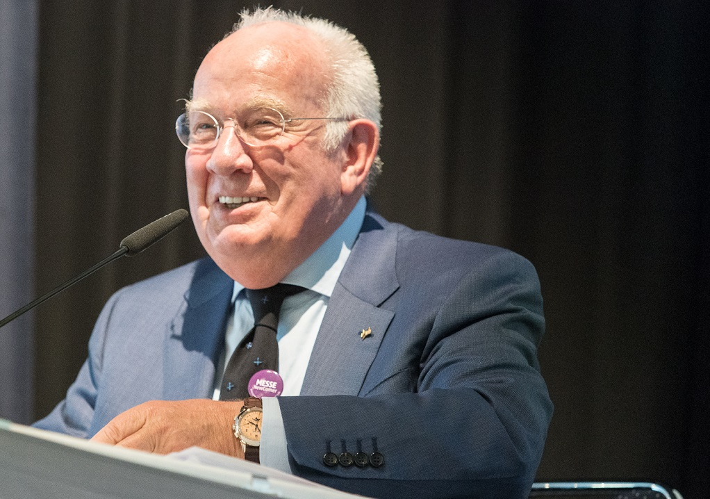 Walter Mennekes Ehrenvorsitzender des AUMA