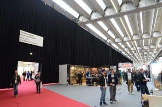 Schallvorhang auf der Musikmesse Frankfurt