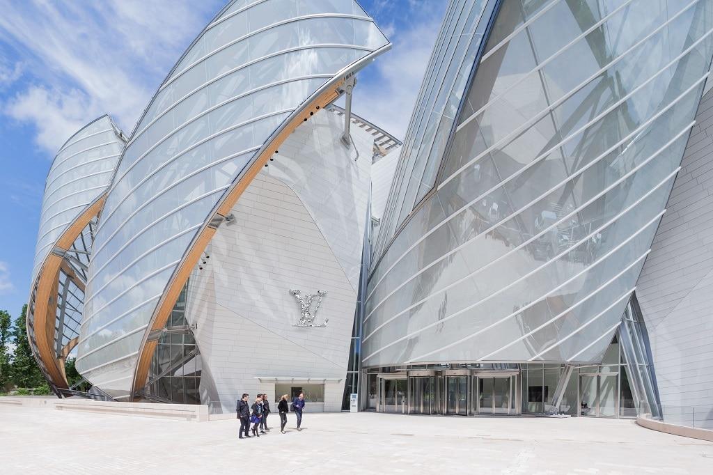 Museum aus Glas in Paris