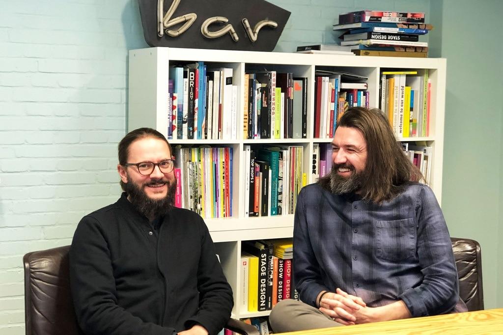 Mathias Pritzkow und Andrejas Vodjevic