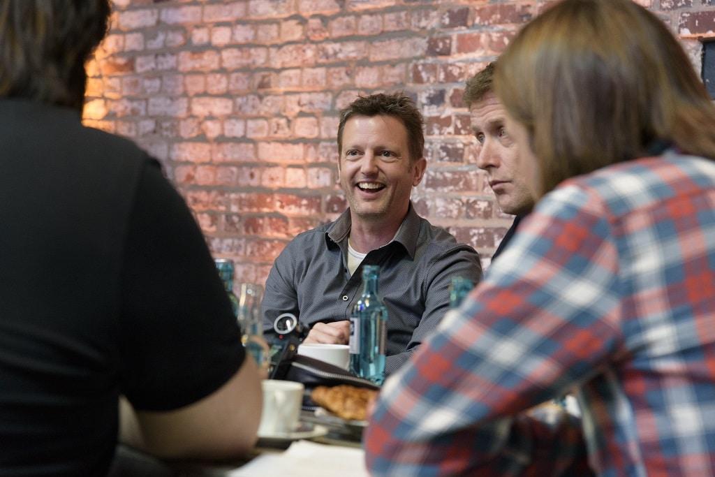 Alex Ostermaier (Mitte), Geschäftsführer N&M