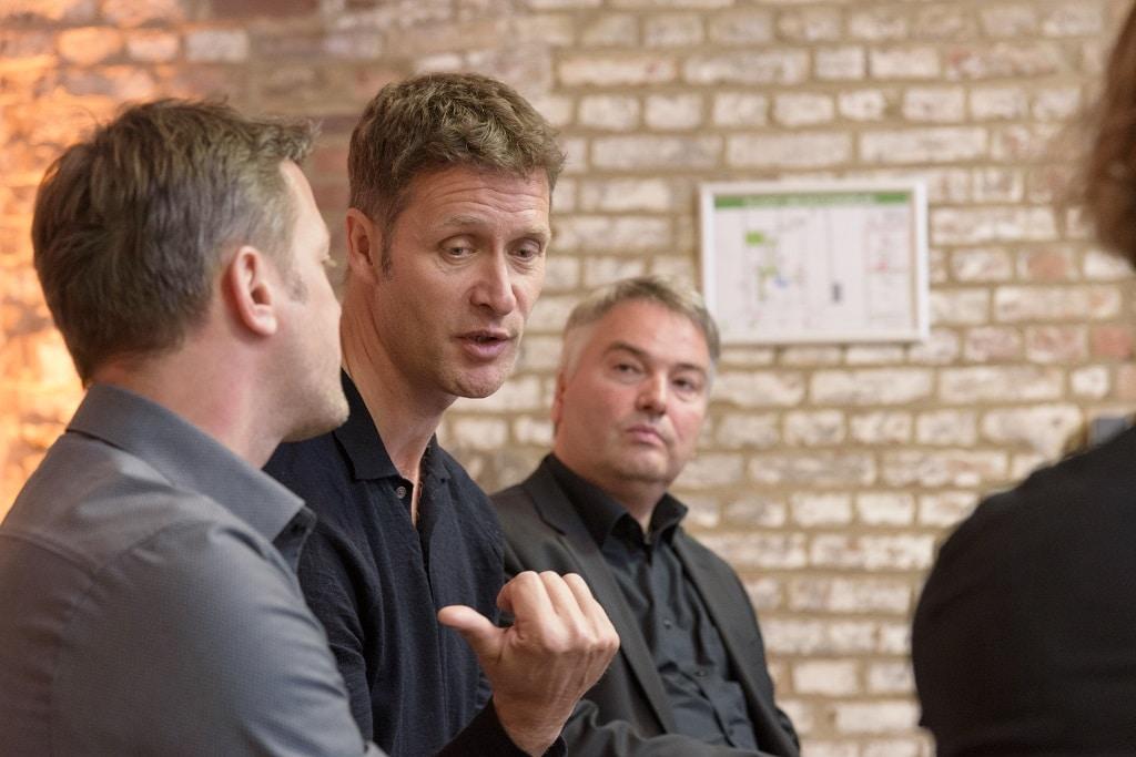 Christian Sommer (Mitte), Geschäftsführer Ambion