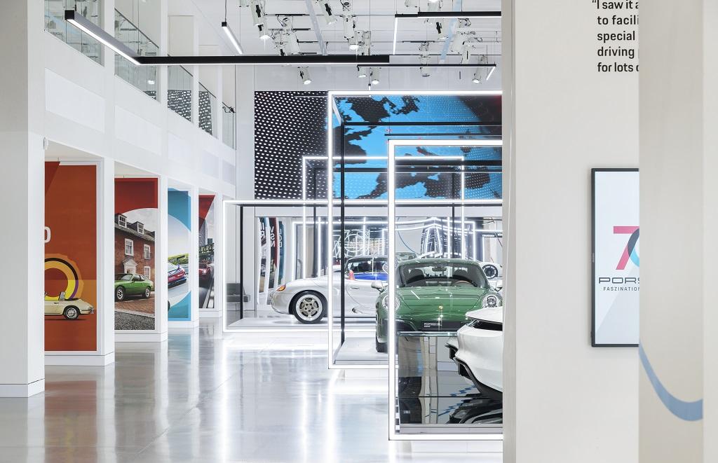 70 Jahre Porsche Sportwagen Uniplan