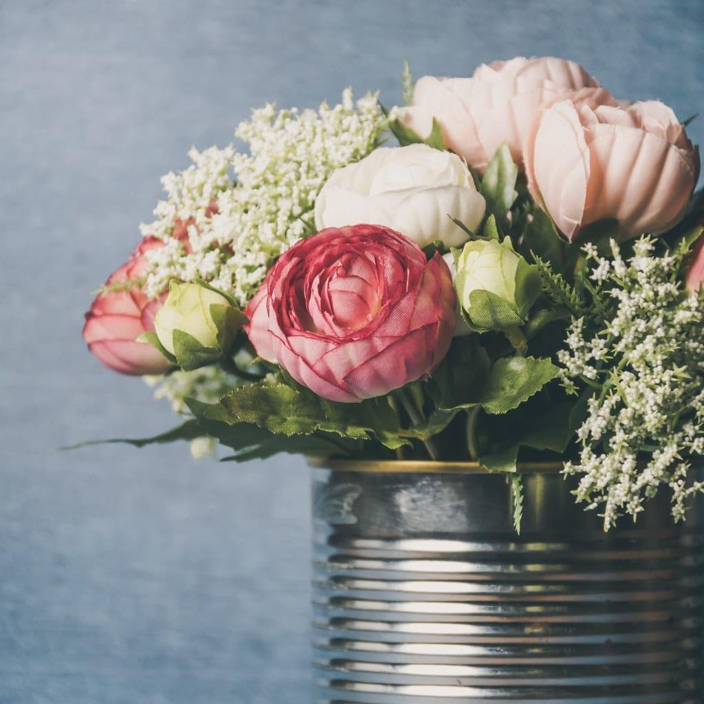 Blumen-Blumenstrauß-Floristik