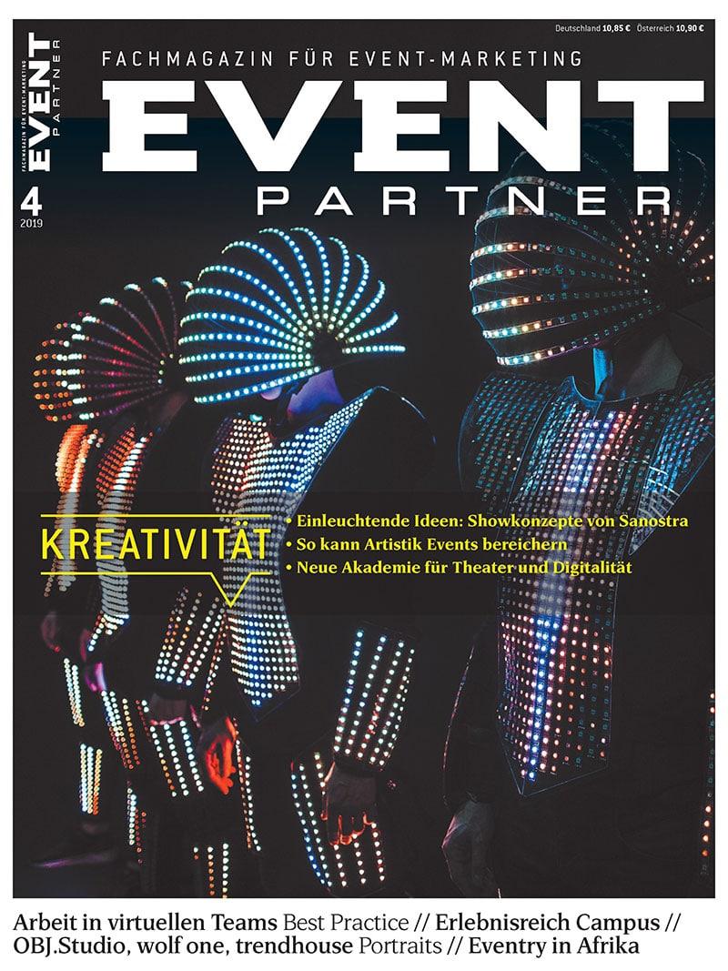 Aktuelle Ausgabe: Event Partner