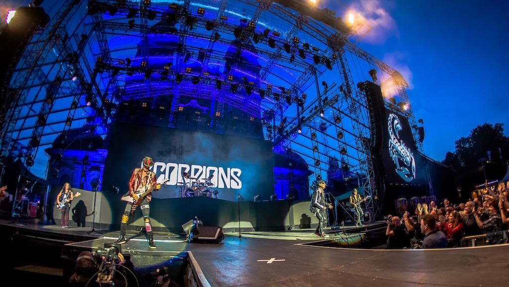 Scorpions-Auftritt zum Fuldaer Stadtjubiläum 2019
