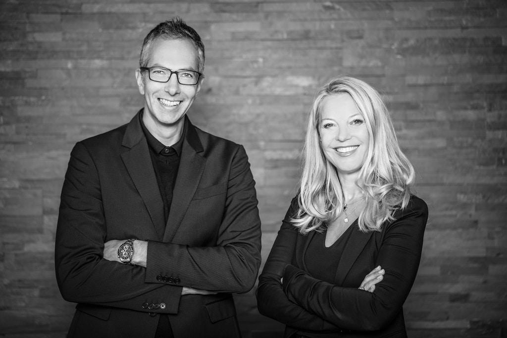 Firmengründerin Brigitte Nußbaum und Geschäftsführer Martin Danner