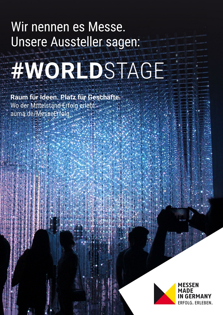 #MesseErfolg - Motiv Worldstage - Deutsch - JPG