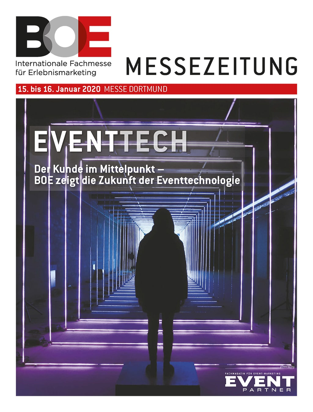 BOE Messezeitung 2020 Cover