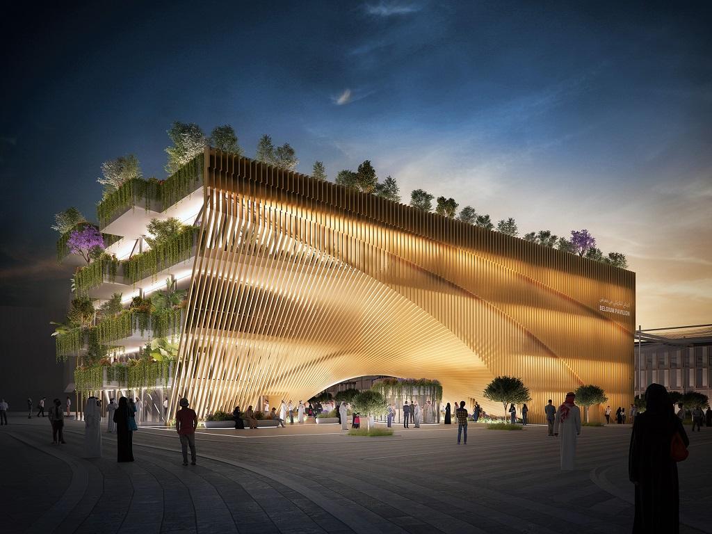 Belgischer Pavillon EXPO 2020 Dubai