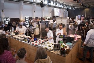 Grand Hall Zollverein Koch des Jahres live Cooking