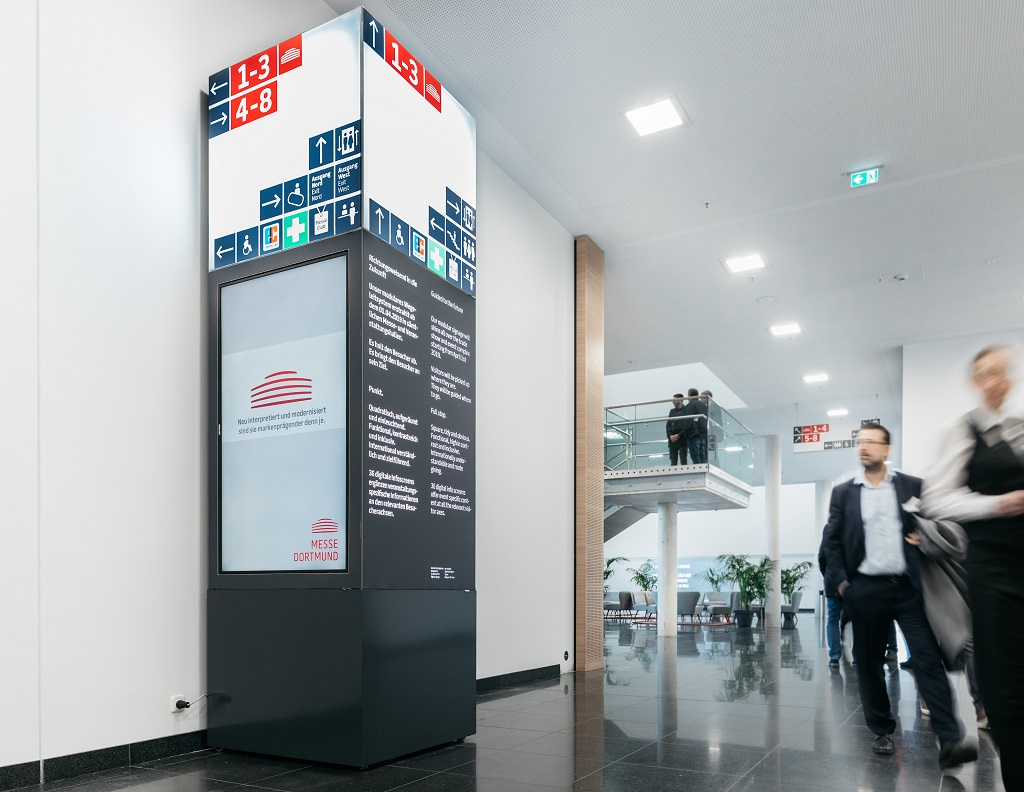 Messe_Dortmund_Multifunktionsstelen