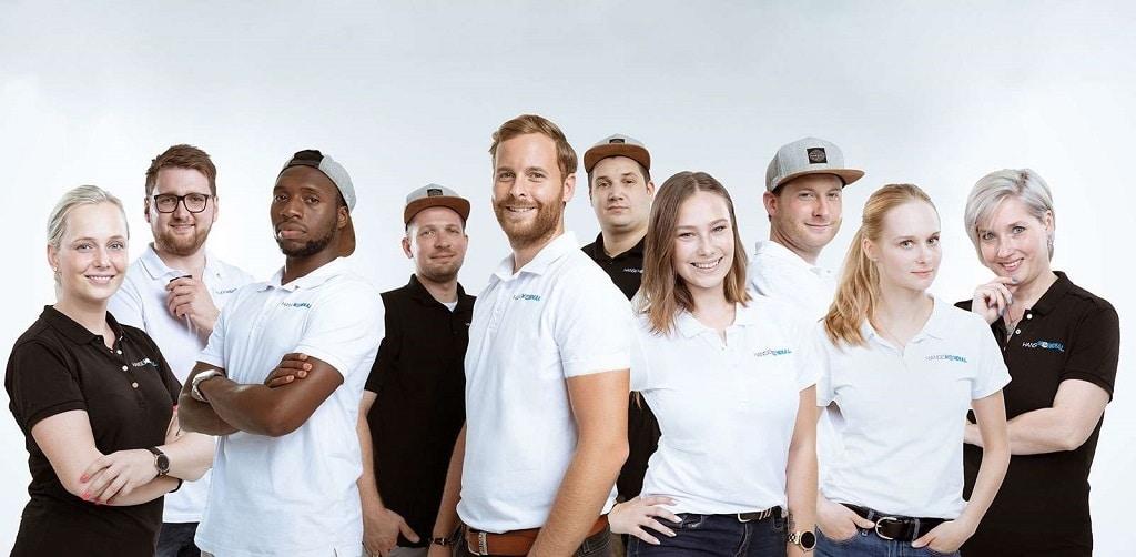 Das Team von Hanse Mondial