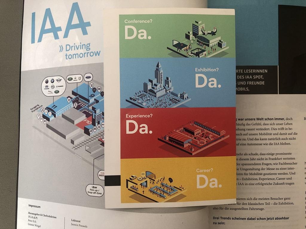 IAA 2019 Eintrittskarte