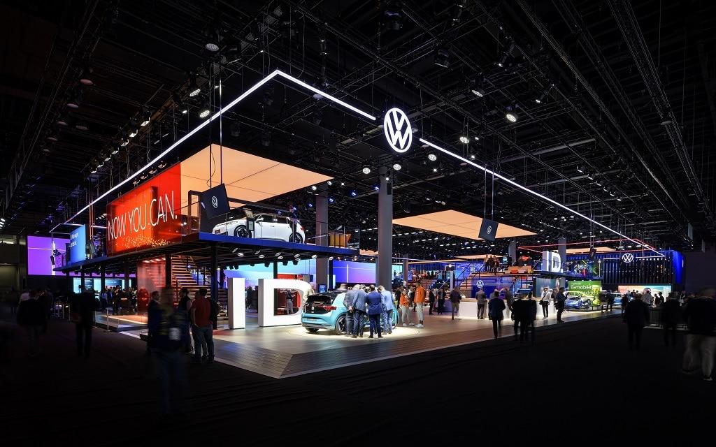 Launch des Volkswagen New Brand Design auf der IAA 2019