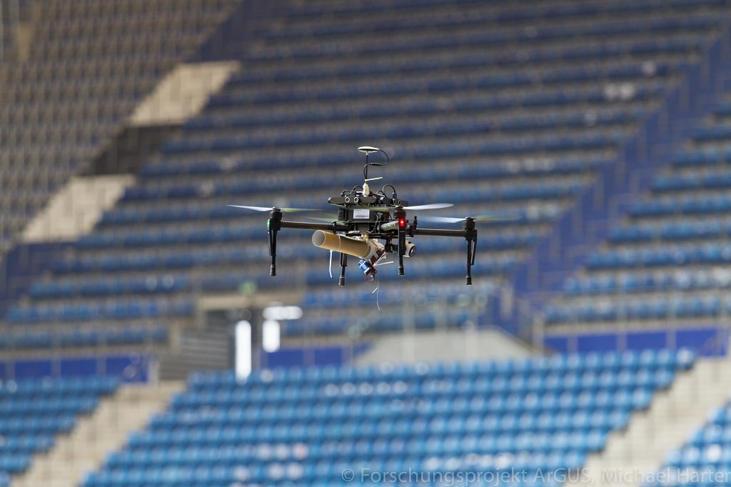2018 -Volksparkstadion ArGUS Drohne
