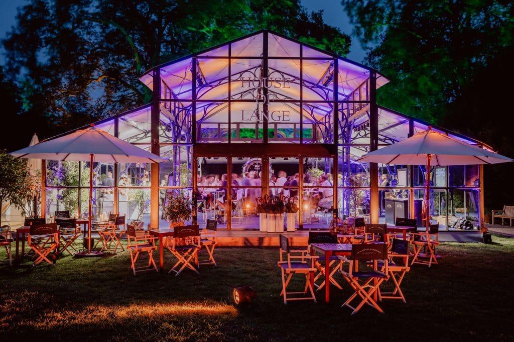 Erlebniswelt für A. Lange & Söhne im Rahmen der Classic Days Schloss Dyck 2019
