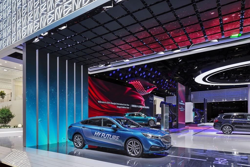 Hongqi auf der Auto Shanghai 2019