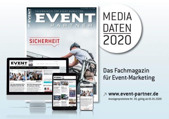 Mediadaten 2020 Event Partner Deckblatt