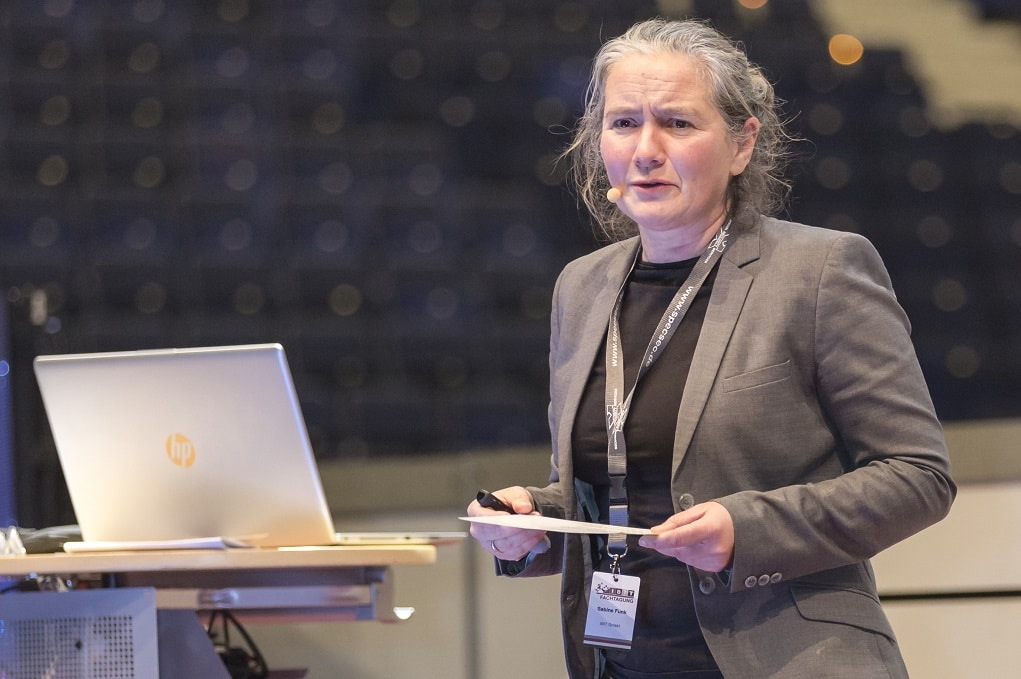 Sabine Funk, Fachfrau für Eventsicherheit und Crowd Management