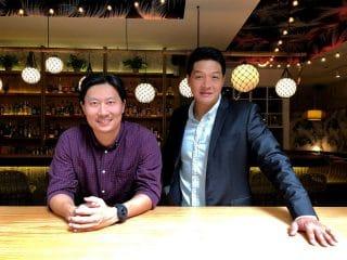 Tyron Truong (l.) und Liu Si