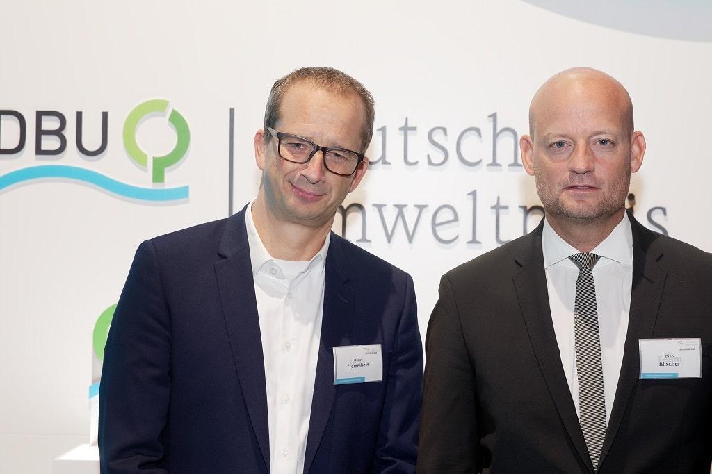 Mario Frommhold (links) und Dino Büscher von der fischerAppelt, live marketing GmbH