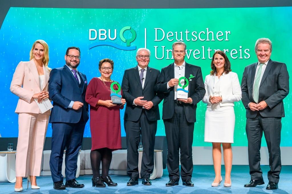 Preisverleihung Deutscher Umweltpreis der DBU 2019