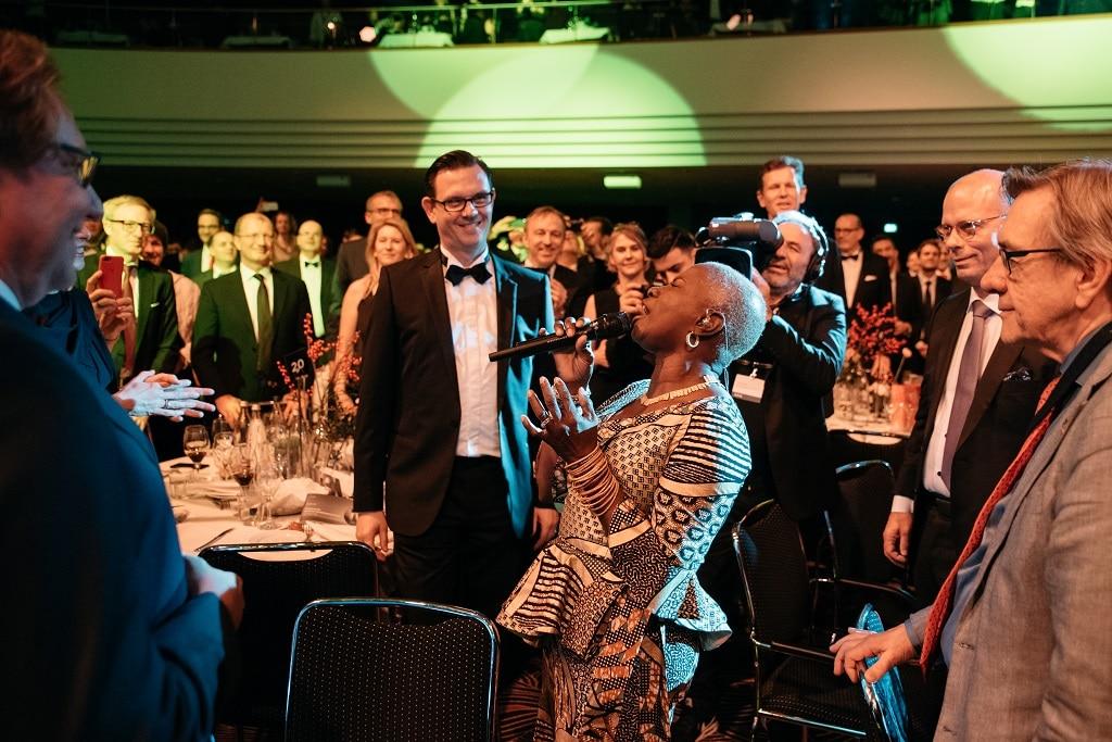 Musikact Angélique Kidjo beim Deutschen Nachhaltigkeitspreis