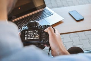 Kamera-Foto-Dokumentation