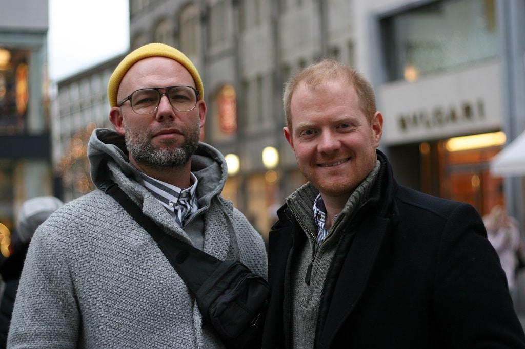 Marco Dittrich (l.) und Chris Cuhls