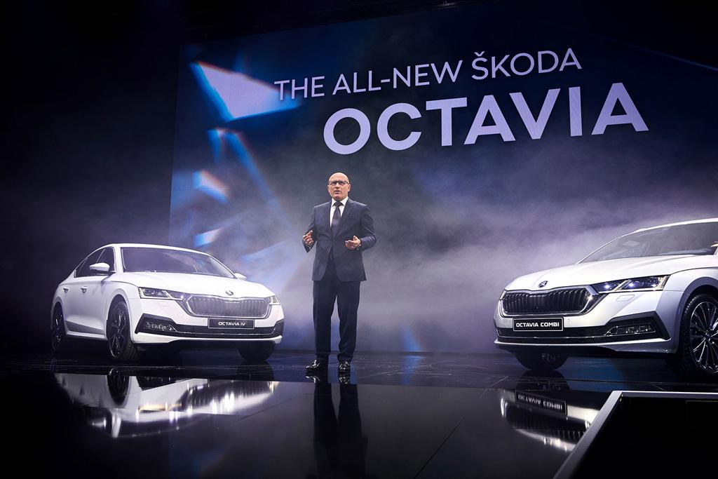 Vorstellung der neuen Octavia-Modelle