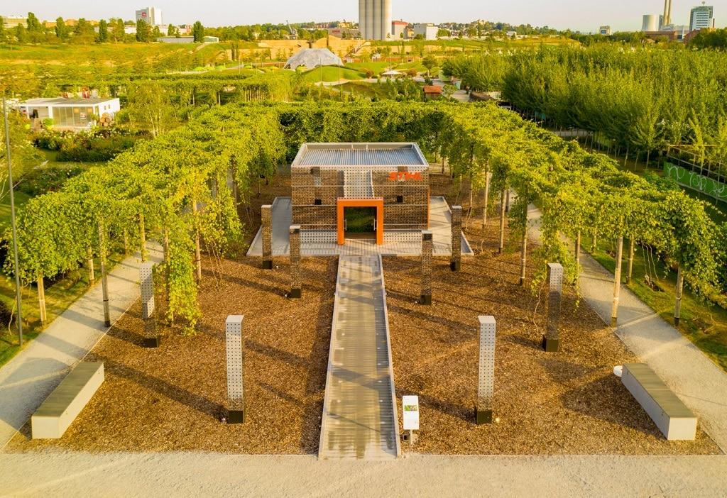 Stihl Bundes- und Remstal Gartenschau 2019 Bau