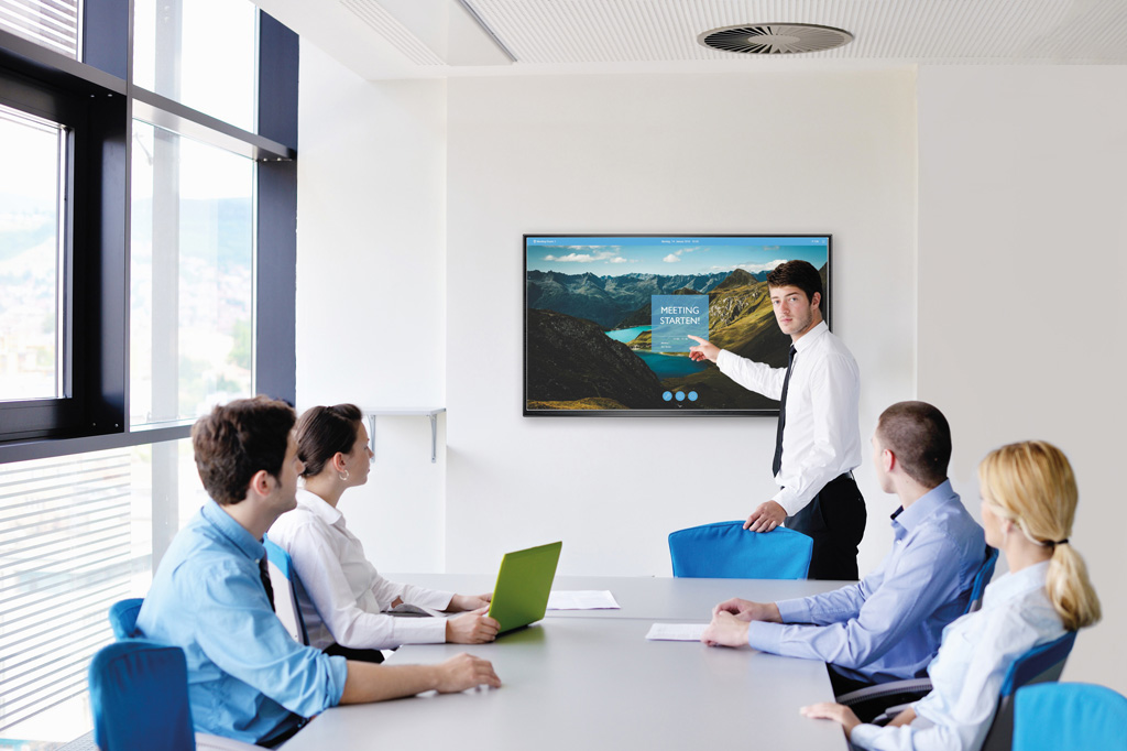 Konferenzsituation