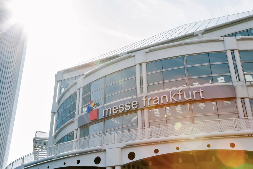 Eingang der Messe Frankfurt