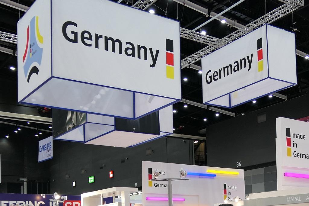 German Pavilions auf Auslandsmessen