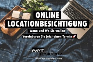 online Locationbesichtigung Eventresidenz