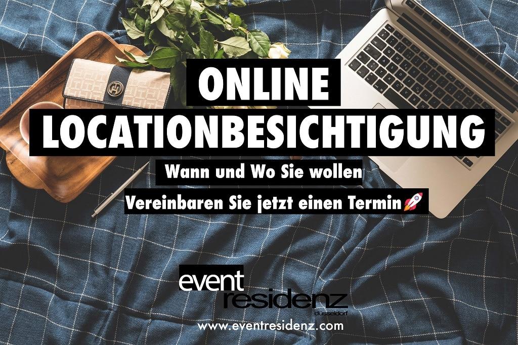 online Locationbesichtigung Eventresidenz