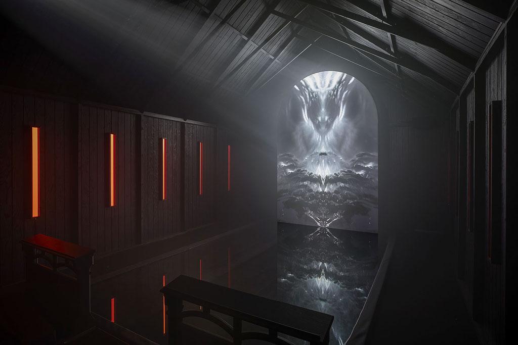 Astera Titan Tubes in der Ausstellung