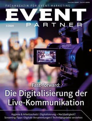 Vorläufiger Titel Event Partner Ausgabe 3-2020