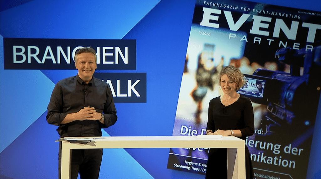 """Cristián Gálvez und Martina Courth im Live-Talk bei """"I have a Stream!"""""""