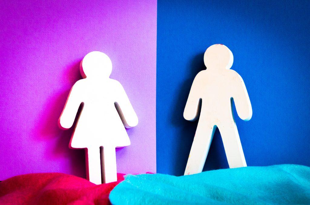 Mann-Frau-Gender-Unterschied