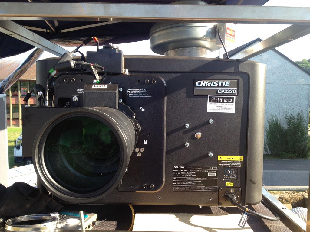 Christie Projektor