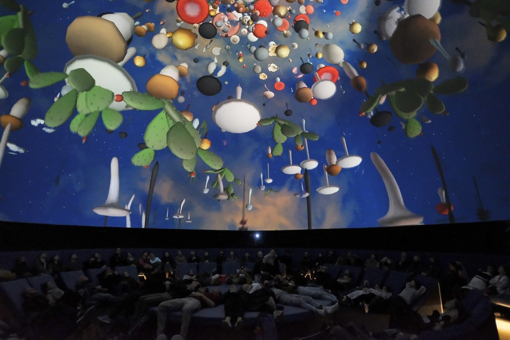"""""""The New Infinity. New art for planetariums"""" featuring David OReilly's work """"Eye of the Dream"""""""