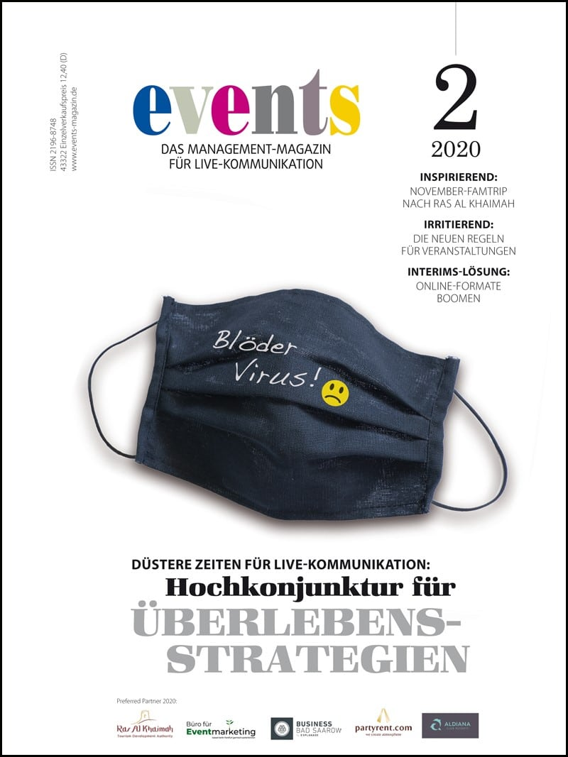 Produkt: events Magazin 2/2020