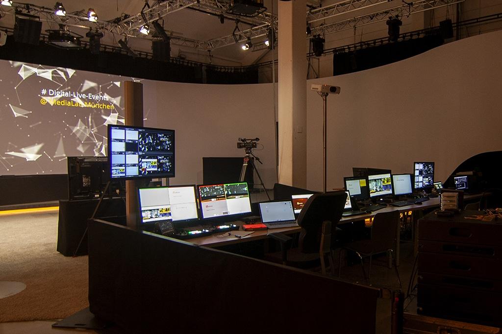 Das Studio von N&M in München