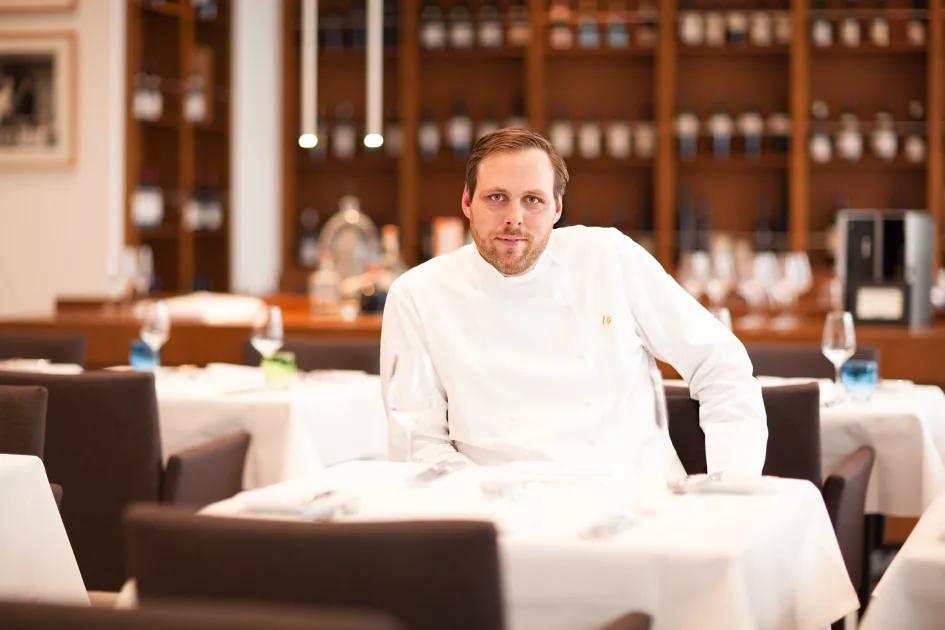 Küchenchef Florian Glauert
