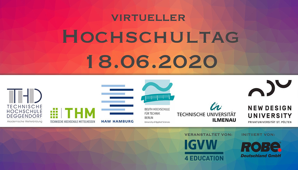 Hochschulinformationstag Robe Next Generation