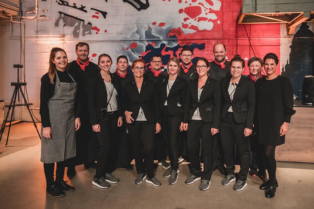 Das Team von FR Catering